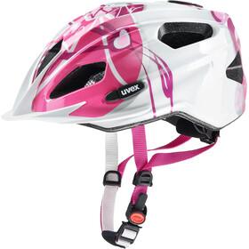UVEX Quatro Junior Helmet pink-silver